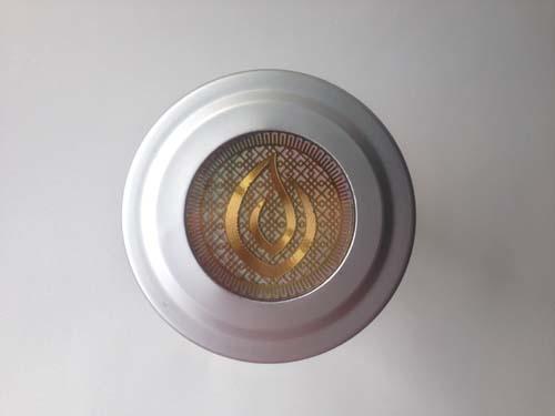 holographic libre tea logo