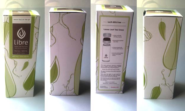 libre tea box packaging