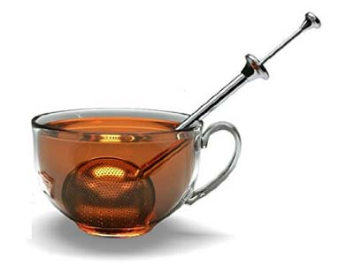 tea ball infuser with long handle