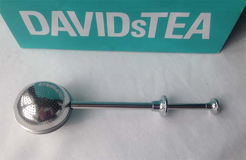 davids tea scoop n slide infuser