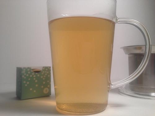 brewed davids tea sweet almond green