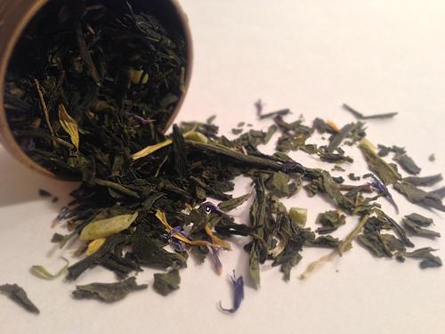 organic sweet almond green davids tea