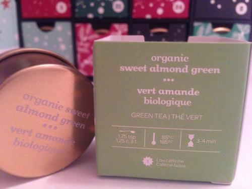 davids tea sweet almond green