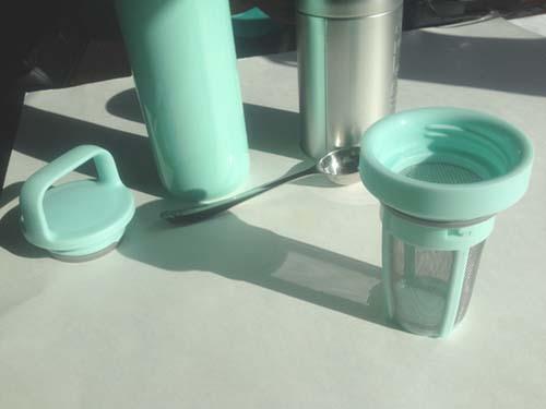carry travel mug davids tea