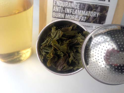 natural warrior tea green tea review