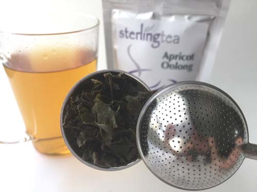 apricot oolong tea review