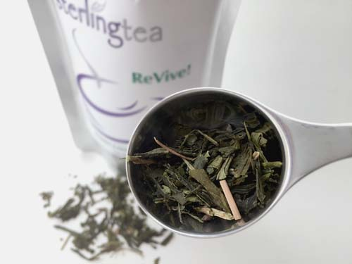 revive green tea by sterling tea