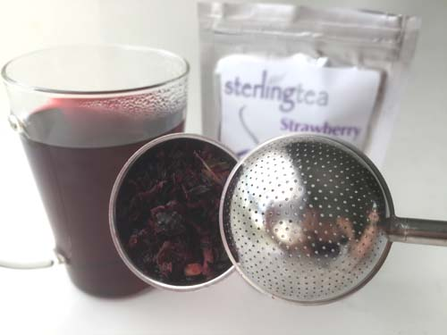strawberry hibiscus herbal tea review
