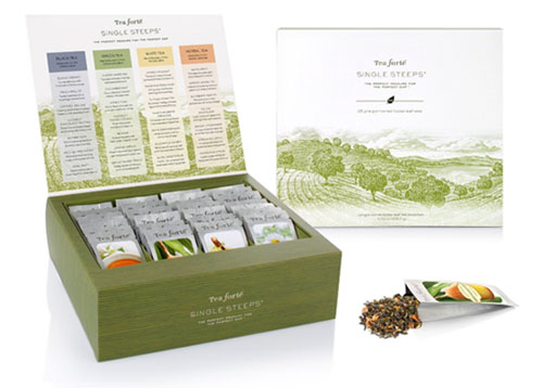 loose leaf tea samplers by tea forte