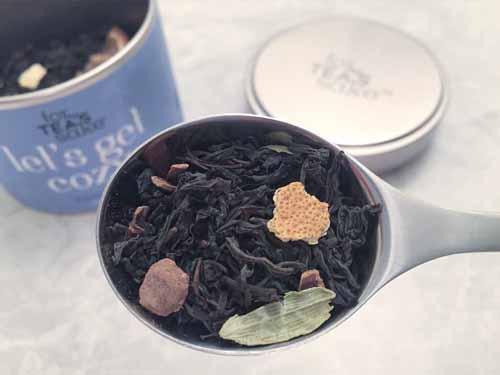 lets get cozy black tea