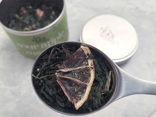 sour apple martini green tea