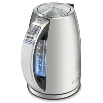 cuisinart electric tea kettle temperature control
